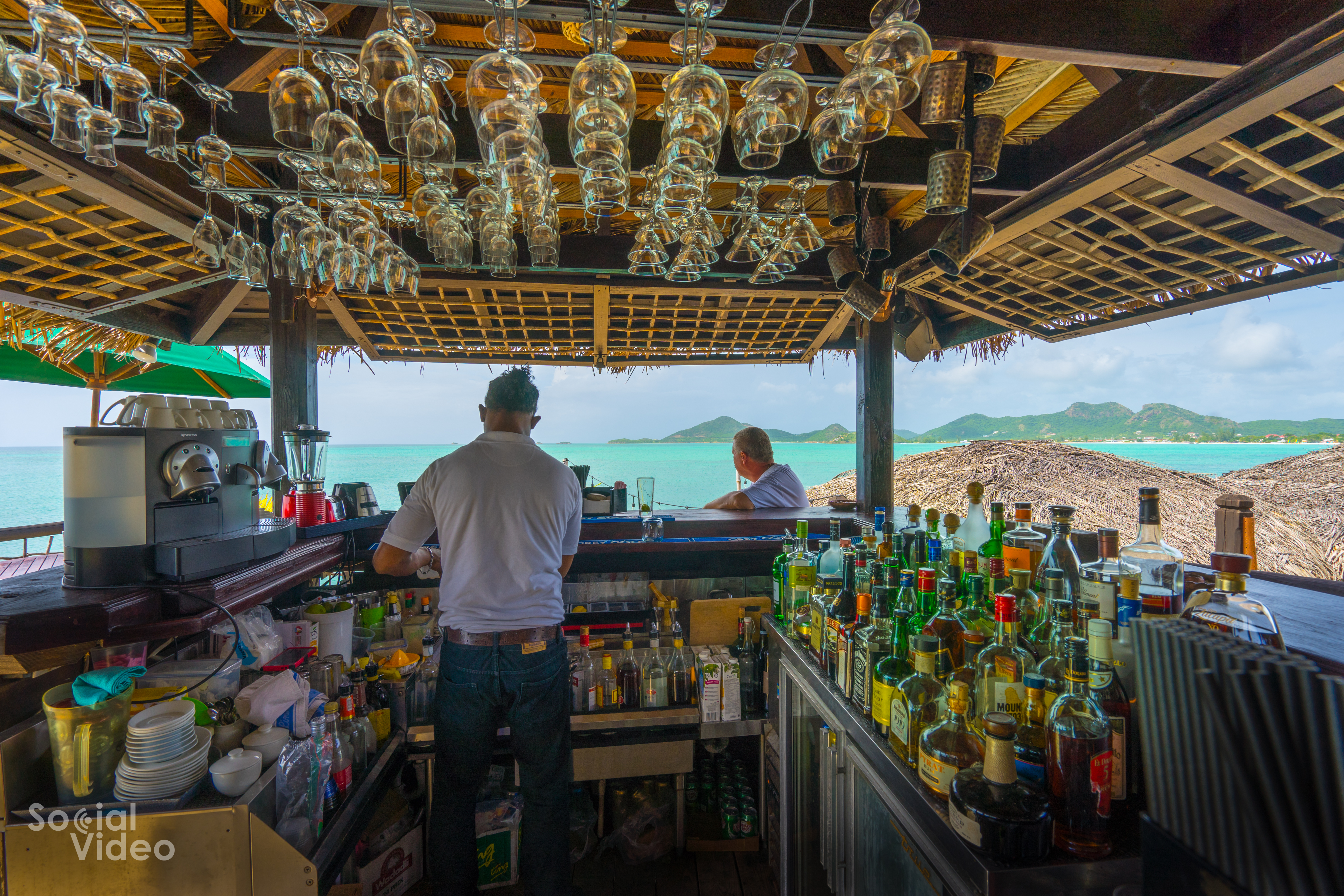 Sheer rocks cocktail bar