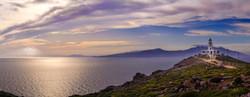 Lighthouse sky