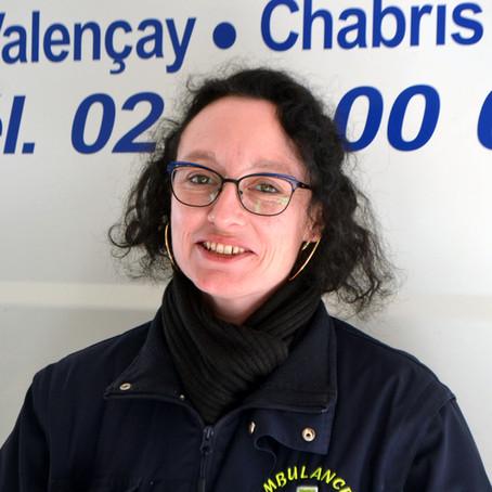Mélanie Ménard, ambulancière par conviction