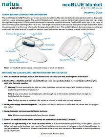neoblue led blanket phototherapy userman