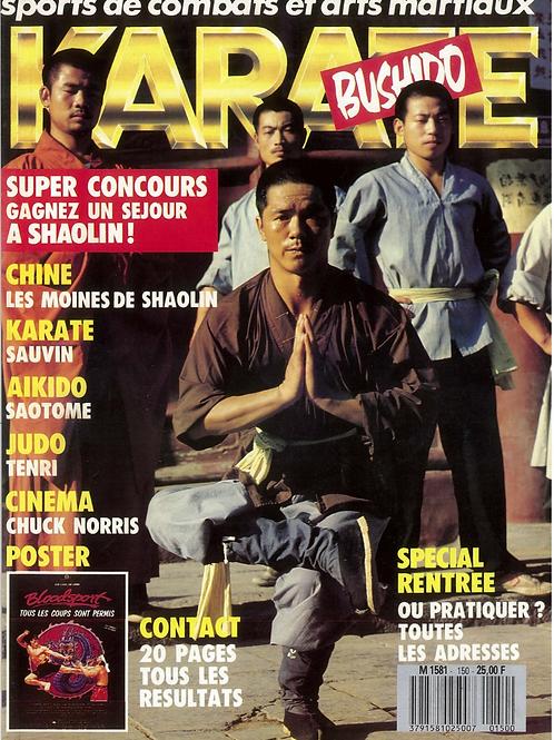 KARATE BUSHIDO #150 SEPTEMBRE  1988