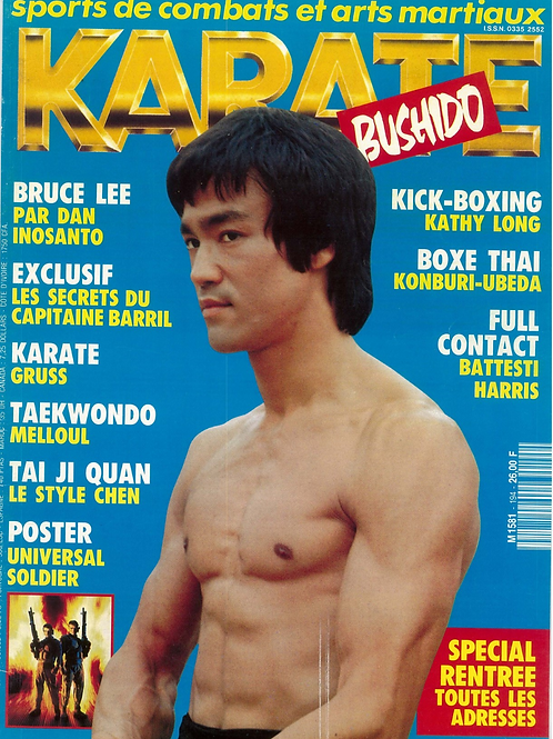 KARATE BUSHIDO #194 Septembre  1992