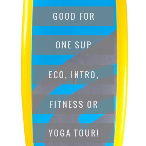 SUP (Stand Up Paddling) Tour Gift Certificate