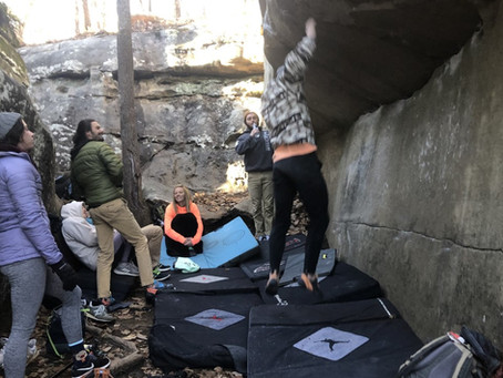 First Time Climbing In Chatt
