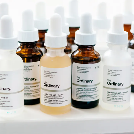A facialists review; The Ordinary.