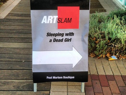 Sleeping with a Dead Girl at ART-Slam/Gore- Fest in Santa Clarita
