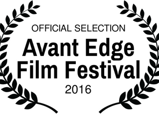 Sesame made it to Avant Edge Film Festival!