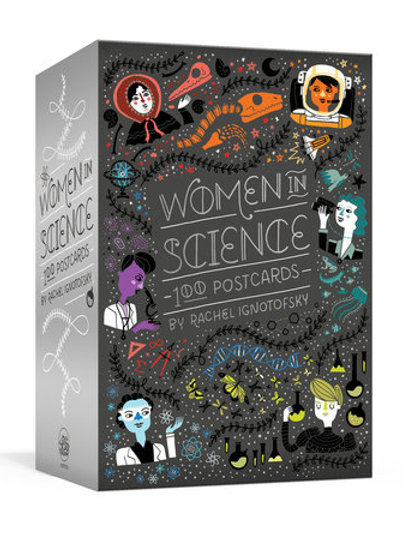 Women in Science Post Cards