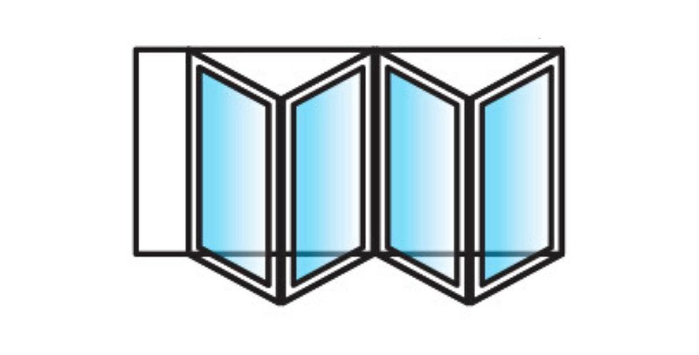 BI-FOLD DOORS - 4 panels