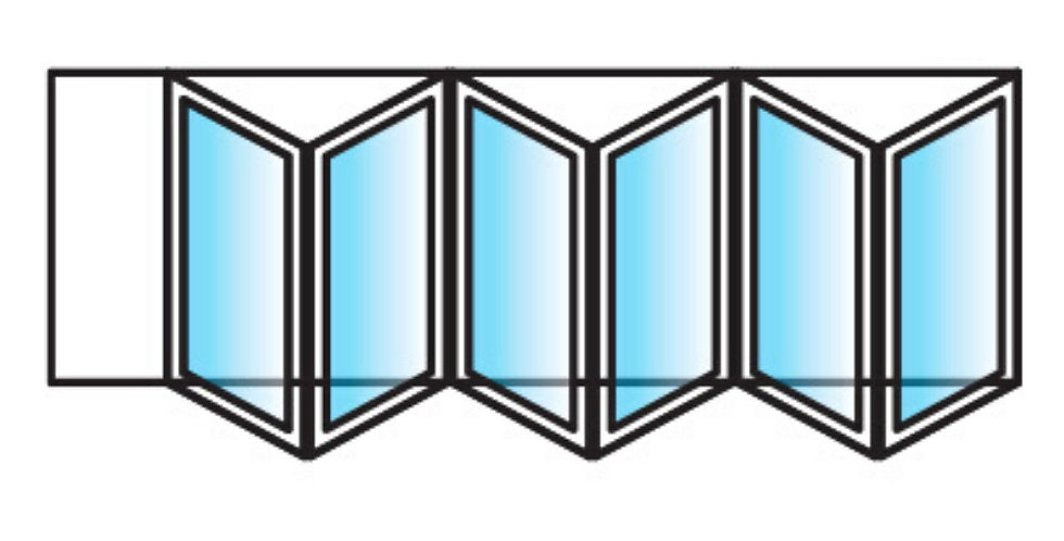 BI-FOLD DOORS - 6 panels