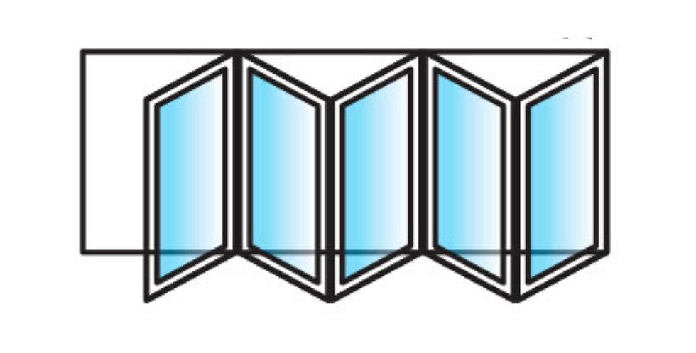 BI-FOLD DOORS - 5 panels