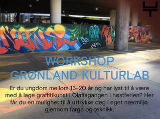 Workshop for ungdom i høstferien!