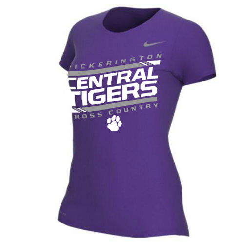 PC: NIKE TECH SHORTSLEEVE (WOMEN)