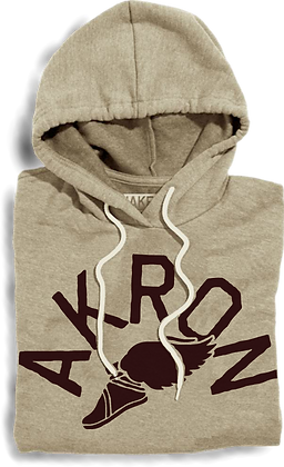 Winged Akron Hooded Fleece
