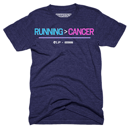 Running > Cancer Tee Shirt