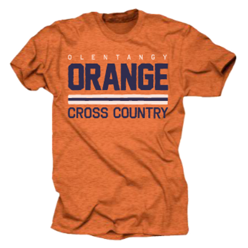 OOXC: SUPER-SOFT VINTAGE TEE (ORANGE)