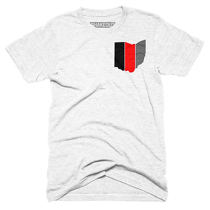 Striped Ohio Tee Shirt