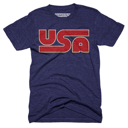 Retro USA Tee Shirt
