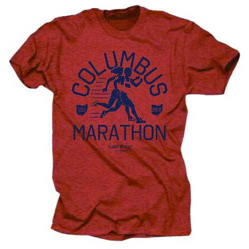 CM: Columbus Marathon Soft Tee