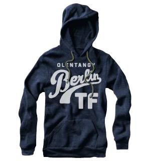OBTF : Vintage Hoody (Navy)