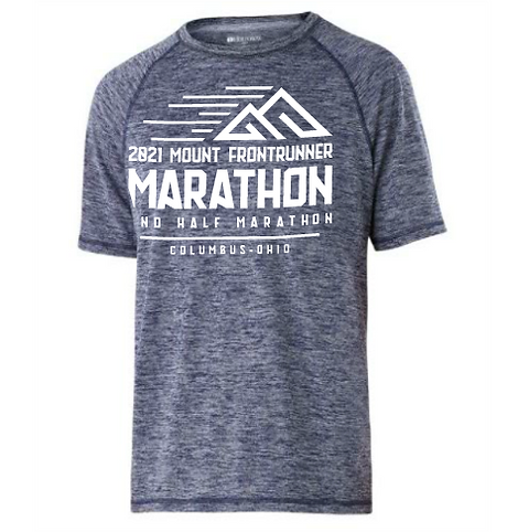 MTFR: MENS HEATHERED TECH TEE (13.1 & 26.2)