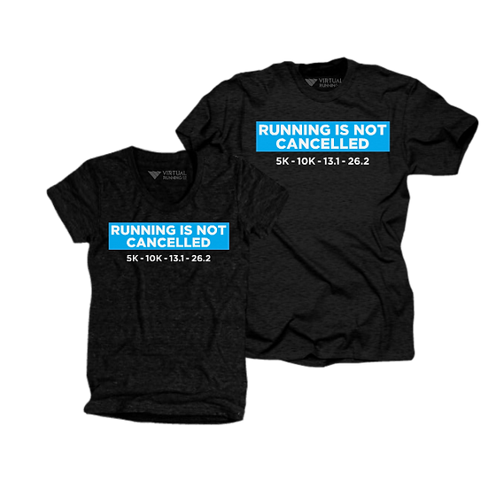 Running Is NOT Cancelled Ultra-Soft Triblend Tee