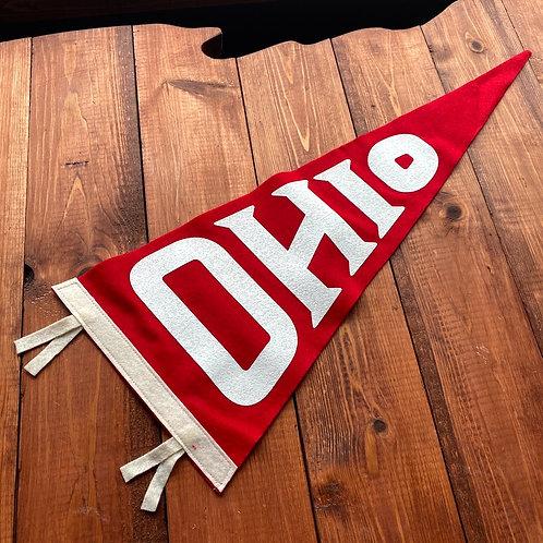 OHIO - RED PENNANT