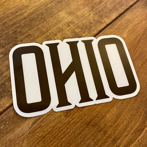 OHIO DECAL - FOUR INCH