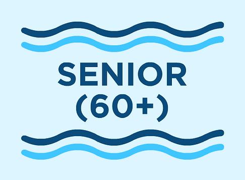 Senior (60+) Membership
