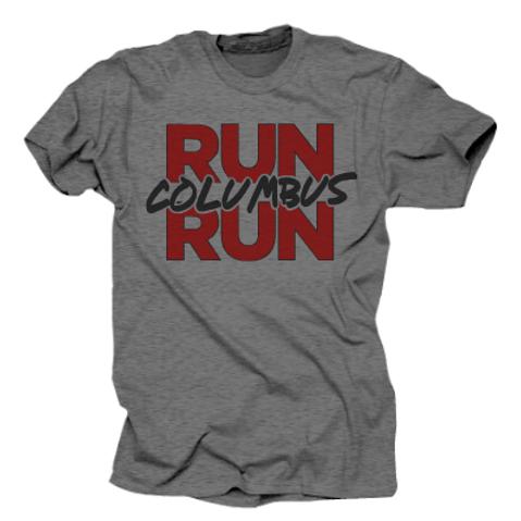 Run Columbus Run : Vintage Tee