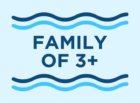 Family Of 3+ Membership