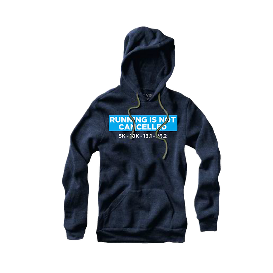 Running Is NOT Cancelled Ultra-Soft Triblend Hoody