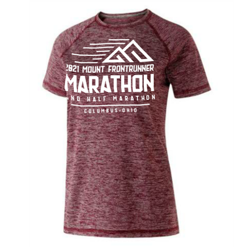MTFR: WOMENS HEATHERED TECH TEE (13.1 & 26.2)