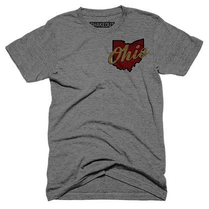 Ohio Script Tee Shirt (Original)