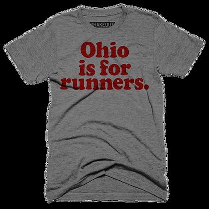Ohio Is For Runners Tee Shirt (Original)