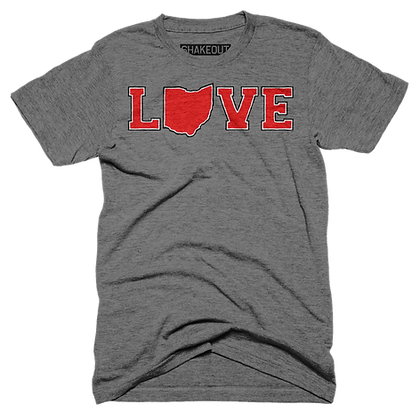Ohio Love Tee Shirt