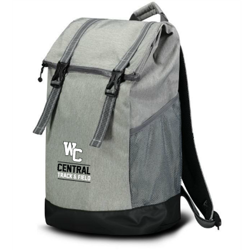 WC: DOUBLE-CLASP XL BACKPACK
