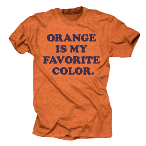 OOHS: Vintage Orange Is My Favorite Tee