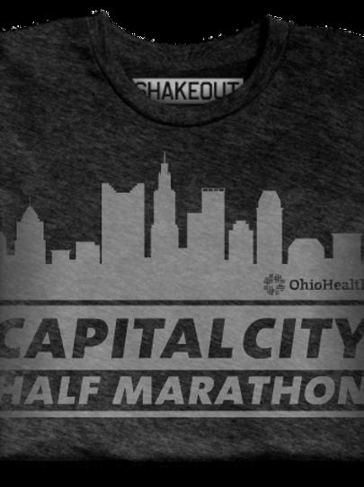 CC: Unisex Shakeout Vintage Tee - Cap City Skyline