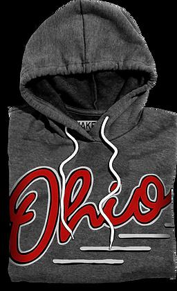 Slanted Ohio Hooded Fleece