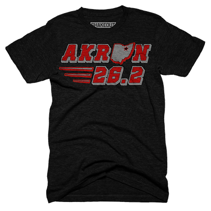 Akron 26.2 Tee Shirt