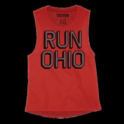 Run Ohio Womens Tank