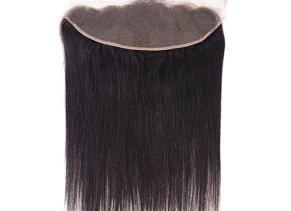 Peruvian Straight Frontal Swiss Lace