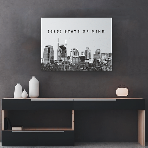 615 State of Mind Canvas