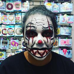Scary Clown #scribblesbda