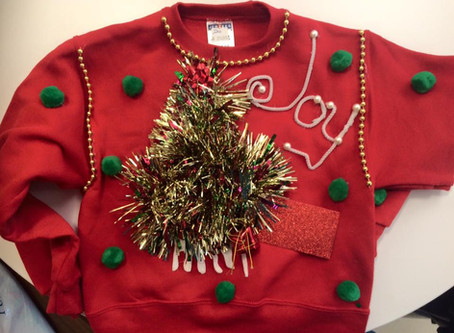 Create your own UGLY Sweater @ Home