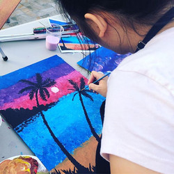 Sunset Paint Night (change of venue) but