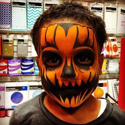 Scary Halloween Pumpkin 🎃 #mymini #scri