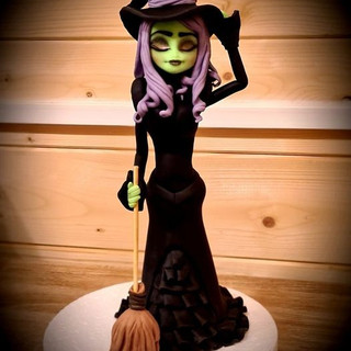 Witch Cake Topper