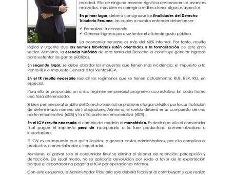 Repensando el Derecho Tributario Peruano